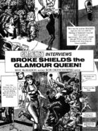 Cracked Interviews Broke Shields the Glamour Queen!