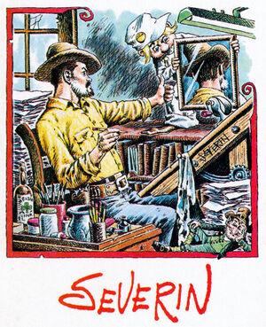 John Severin and Sylvester
