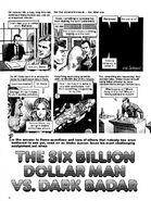 The Six Billion Dollar Man vs Dark Badar
