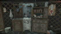 Рукомийник холодильник шафка
