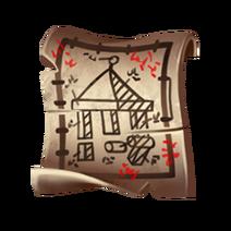 Чертеж маяка (крыша)