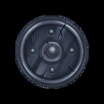 Большое стальное колесо