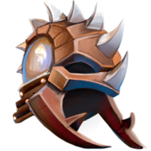 Шлем Жук-носорог