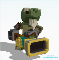Blast gunner