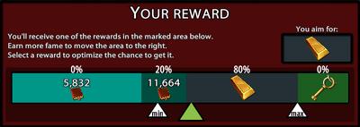 Reward Slider