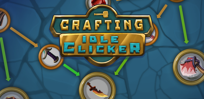 Crafting Idle Clicker Menu