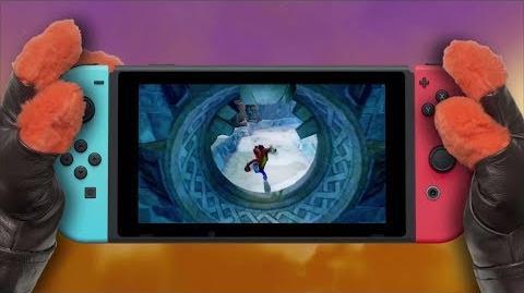 Nintendo SWitch 『クラッシュ・バンディクー ブッ飛び3段もり! ボーナスエディション』トレーラー