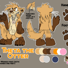 Theta's reference sheet. (IT'S WRONG NOW I NEED A NEW ONE)