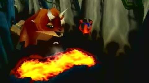 Crash Bandicoot 3 Warped - Bone Yard