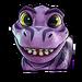 Icône Bébé T violet NF
