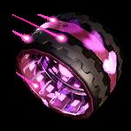 Roue Rose atomique NF