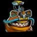 Icône Nash poisson-clown NF