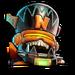 Icône Megamix de la rouille NF