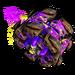 Roue Récup' violet NF