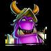 Icône Gnasty Gnorc violet NF