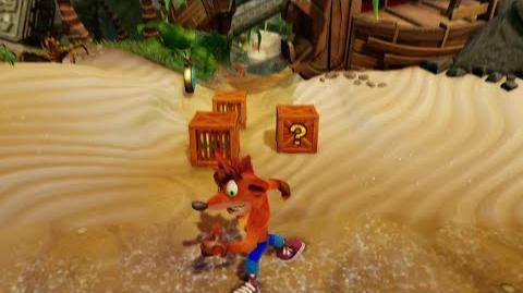 Crash Bandicoot N Sane Trilogy - N Sanity Beach 100% Playthrough (PS4 Pro)-2