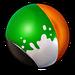 Peinture Vert Blanc & Orange NF