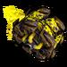 Roue Récup' jaune NF