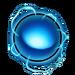 Icône Orbe bleu NF