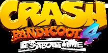 Crash Bandicoot 4 It's About Time Logo