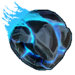 Roue Roche volcanique bleue NF