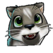 Icône Pura chat noir NF