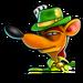 Icône Pinstripe gangster trèfle NF