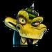Icône Komodo Joe vert NF
