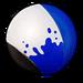 Peinture Blanc & Bleu NF