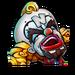 Icône Cortex clown NF