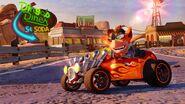 Nitro Fueled Crash biker