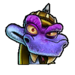 Icône Komodo Joe violet NF