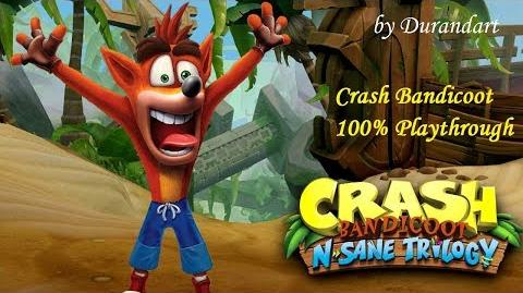 Crash Bandicoot n.sane trilogy - The Lost City-0