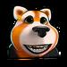 Icône Polar panda roux NF