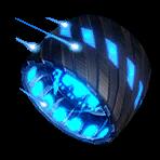 Roue Bleu atomique NF