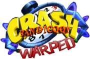 Crash Bandicoot 3 Warped Logo