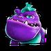 Icône Zam violet NF