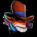 Icône Faux Crash cowboy NF