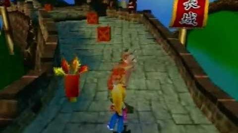 Crash Bandicoot 3 Warped - Orient Express