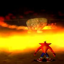 Vengeance de Cortex - Crash explosif