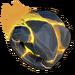 Roue Roche volcanique jaune NF