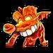Icône Faux Crash monstre de lave NF