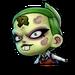 Icône Nina zombie NF