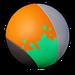 Peinture Orange Chasse-neige NF