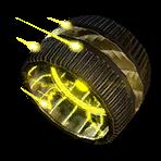 Roue Jaune atomique NF