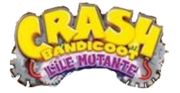Crash l'ile mutante logo