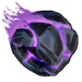 Roue Roche volcanique violette NF