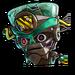 Icône Cortex robot rouillé NF
