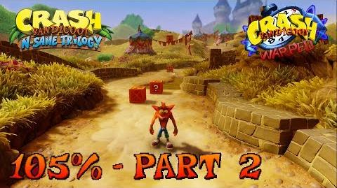 Crash Bandicoot N. Sane Trilogy - Toad Village