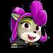 Icône Coco violette NF